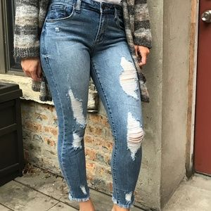 STS Blue Harper High Rise Crop Jeans